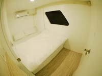 Double bed cabin with own bathroom on the MV Lapat