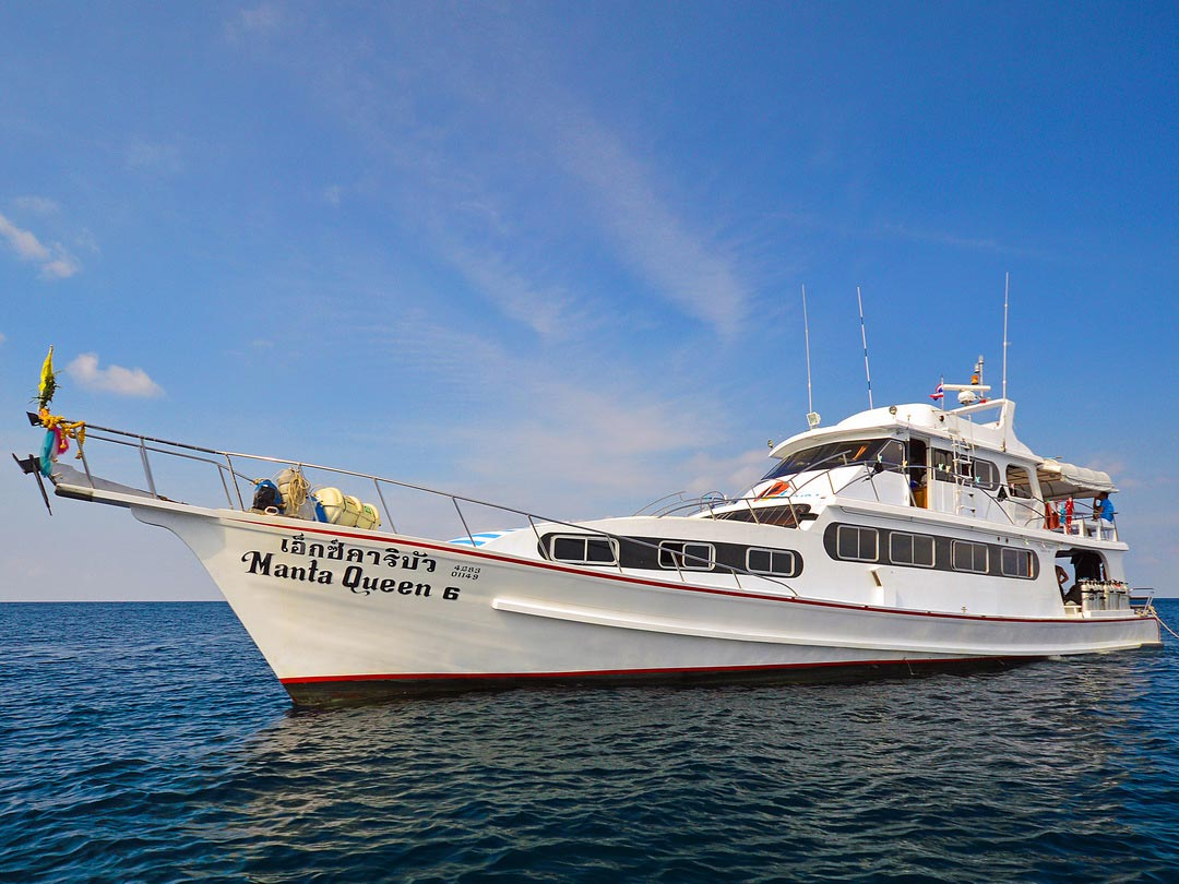 4 Days diving liveaboard trip on the cozy Manta Queen 6