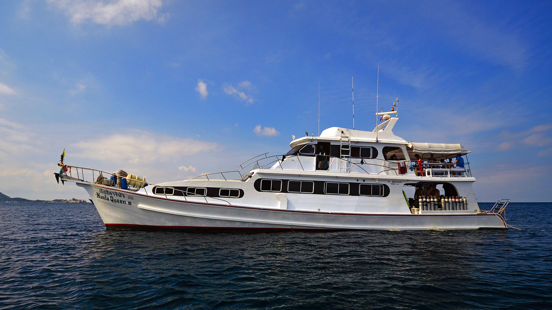 Thailand liveaboard Manta Queen 6  for the 4 days tour