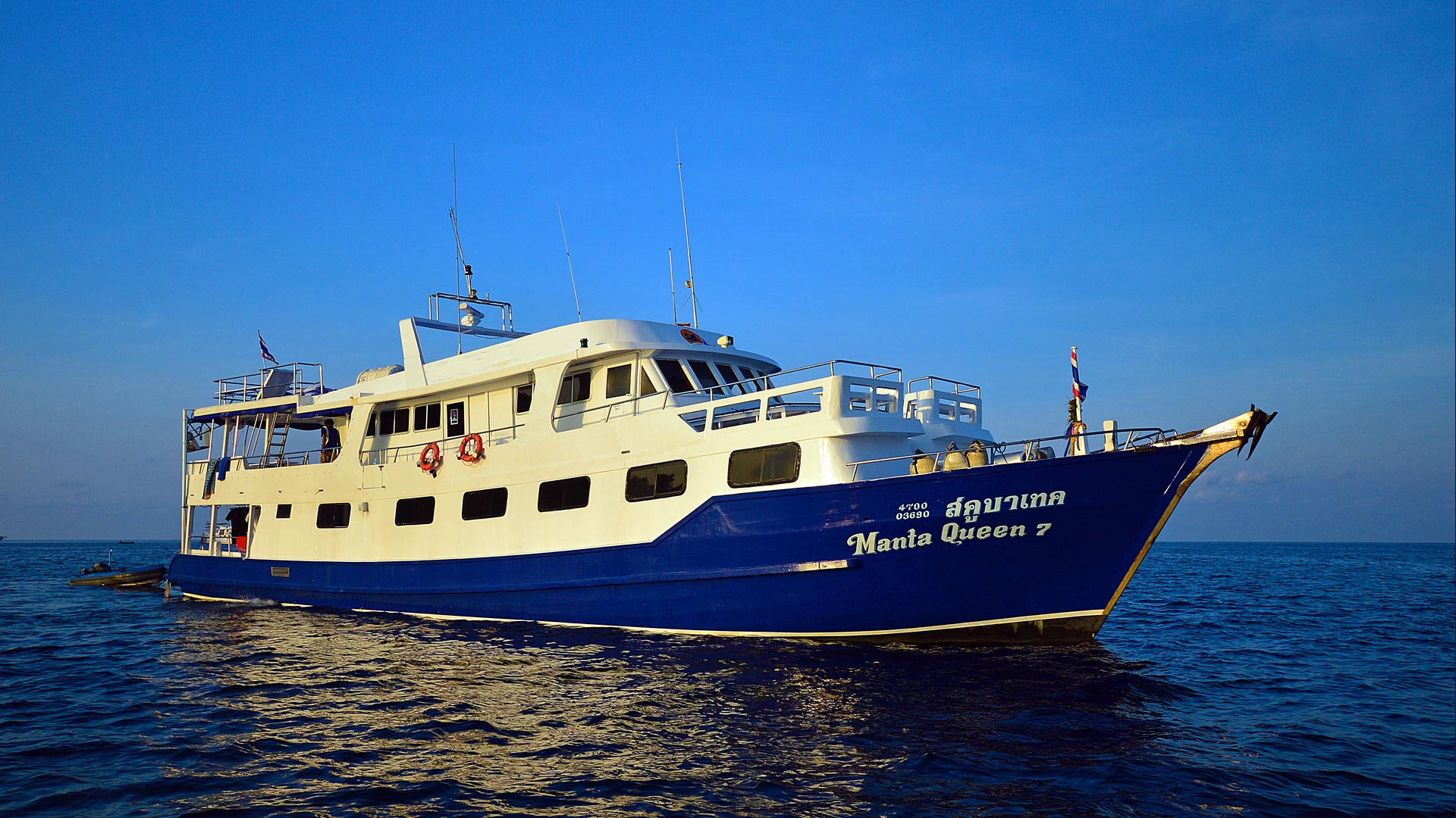 Similan islands liveaboard Manta Queen 7