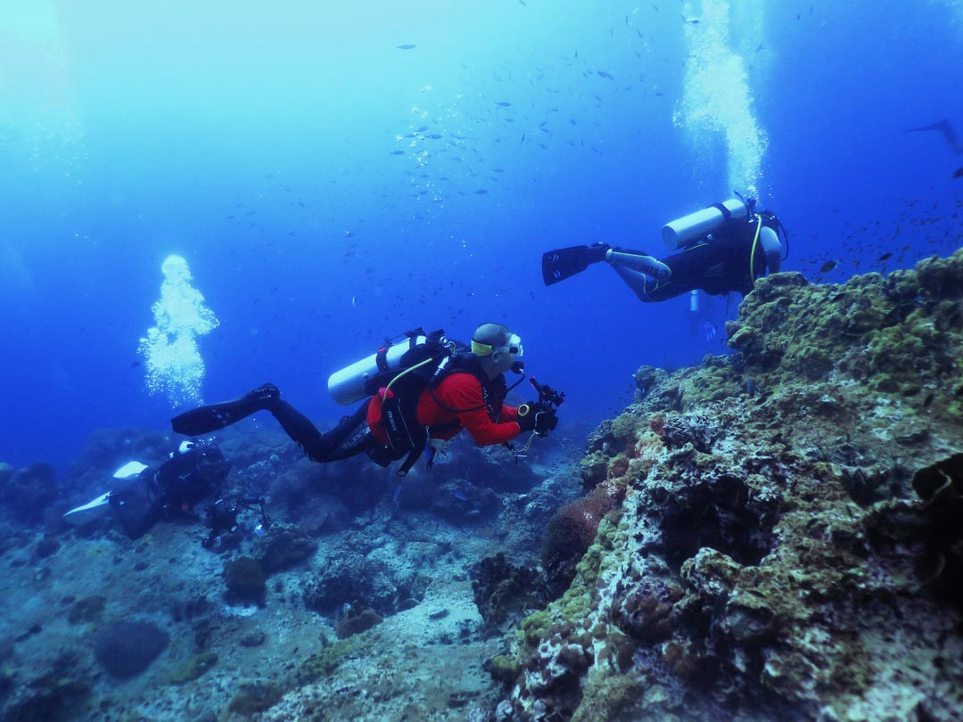 2 Days Padi AOWD course with 5 dives at Khao Lak local dive sites