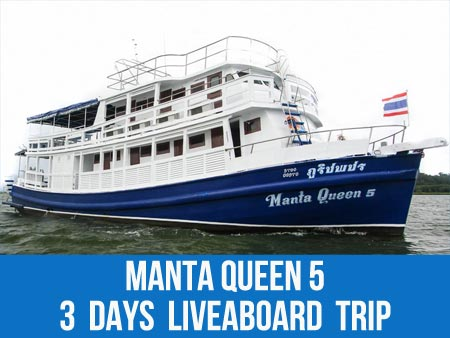 Scuba diving with Starfish on the Similan islands liveaboard Manta Queen 5