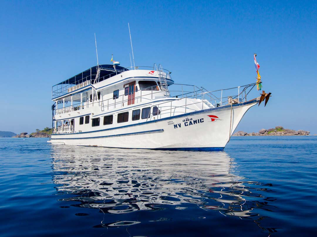 4 Days diving liveaboard trip on the MV Camic