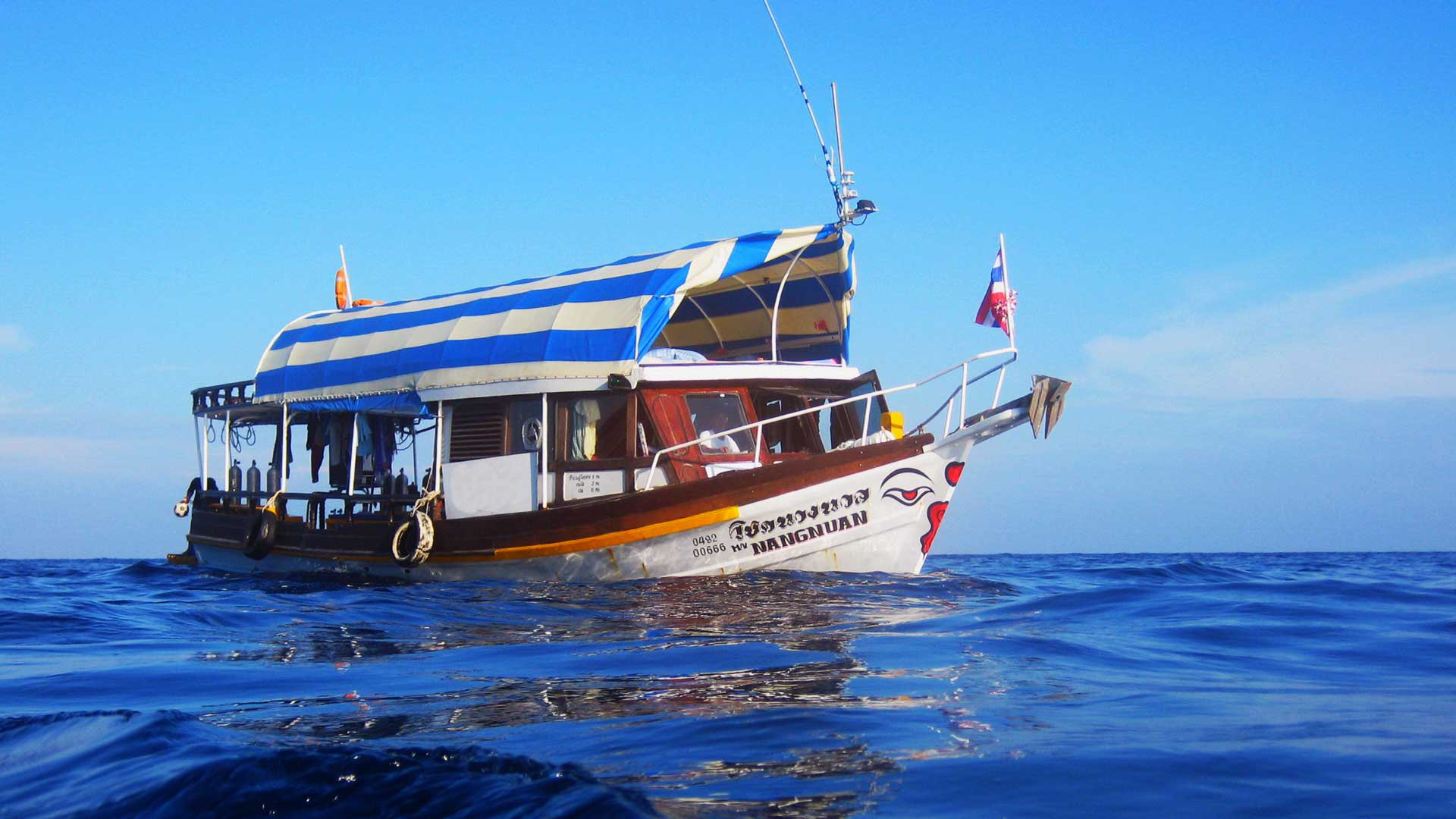 MV Nangnuan diving datrip boat to Boonsung wreck