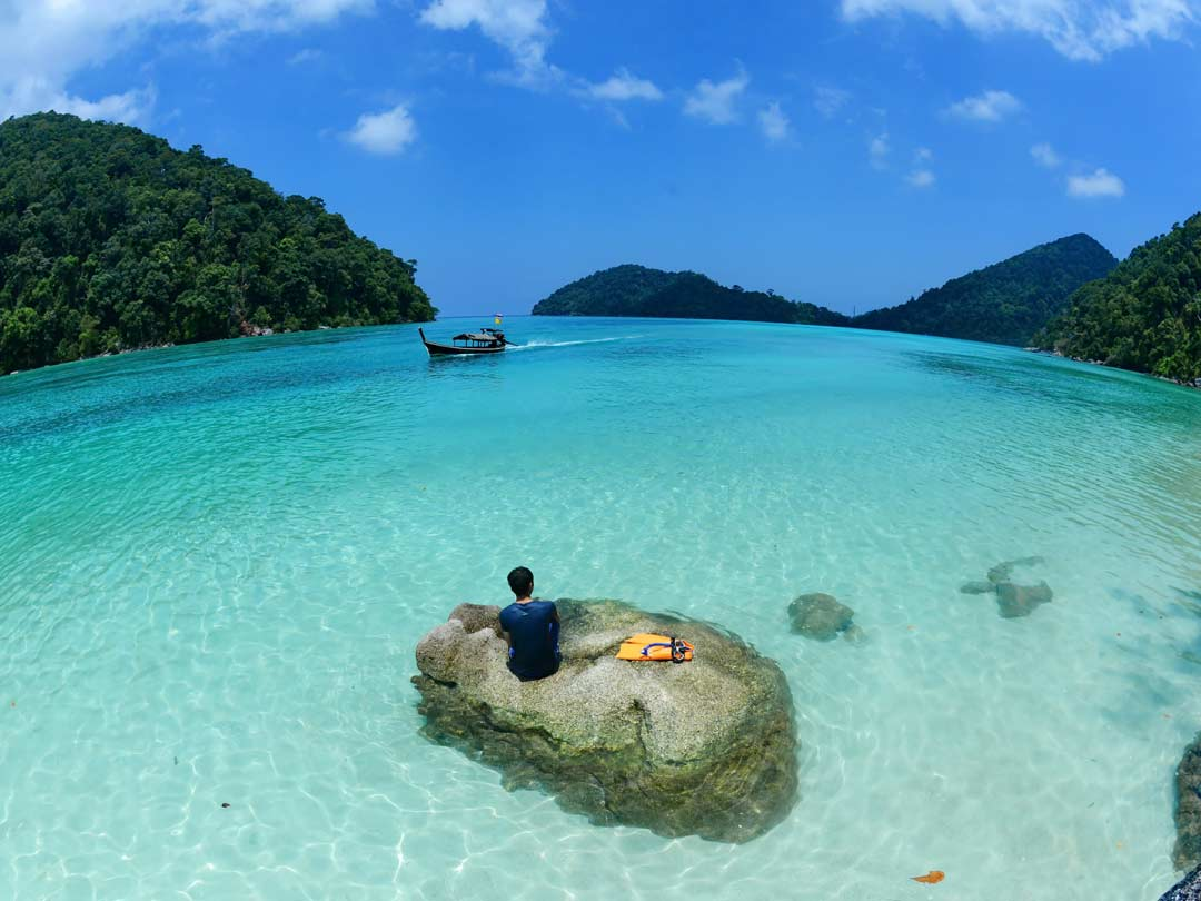 2 Days - 1 night Surin islands overnight snorkeling tour