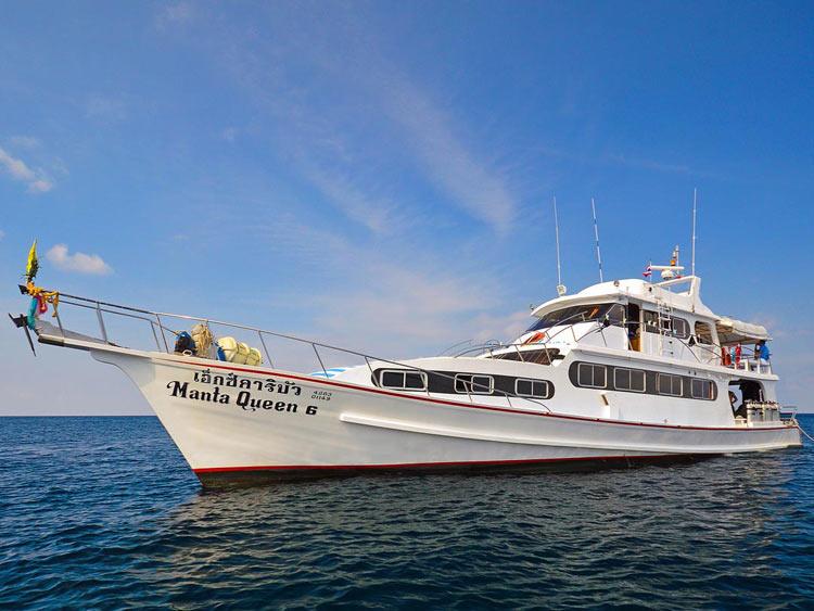 Manta Queen 6 Similan islands liveaboard