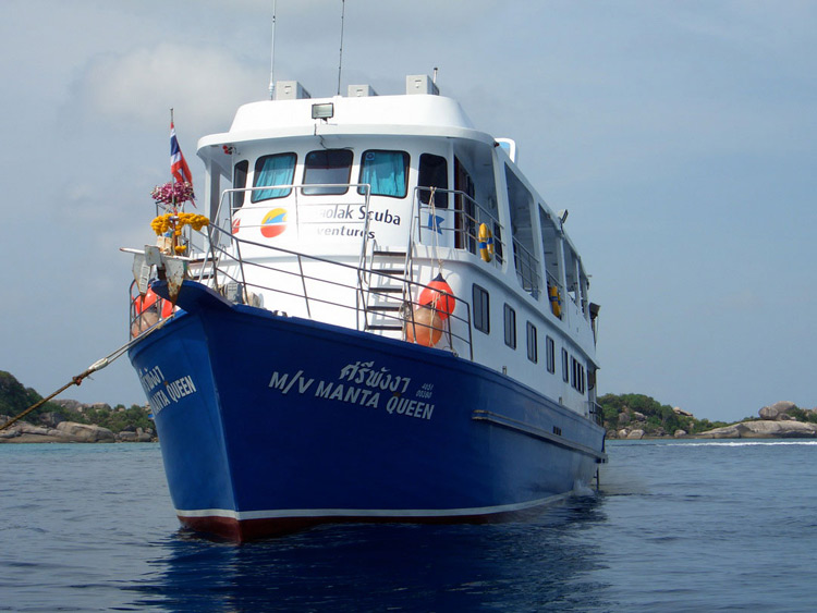 Manta Queen 1 at the Similan islands