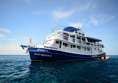 Cruise the Similan islands national park on the Manta Queen 5