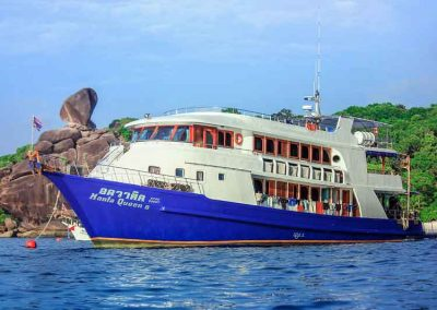 Similan islands liveaboard MQ8