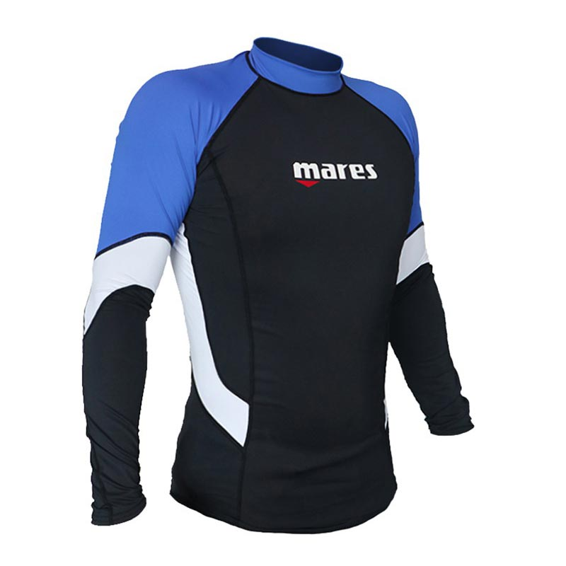 Sun protection shirt for swimming, snorkeling and scuba diving
