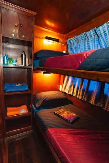 Similan islands liveaboard MV Genesis twin bed cabin