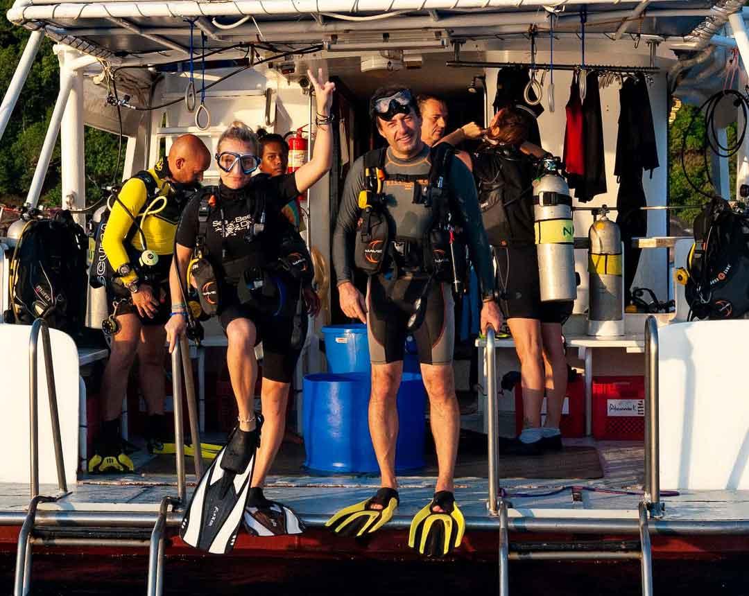 Take a dive at the Similan islands